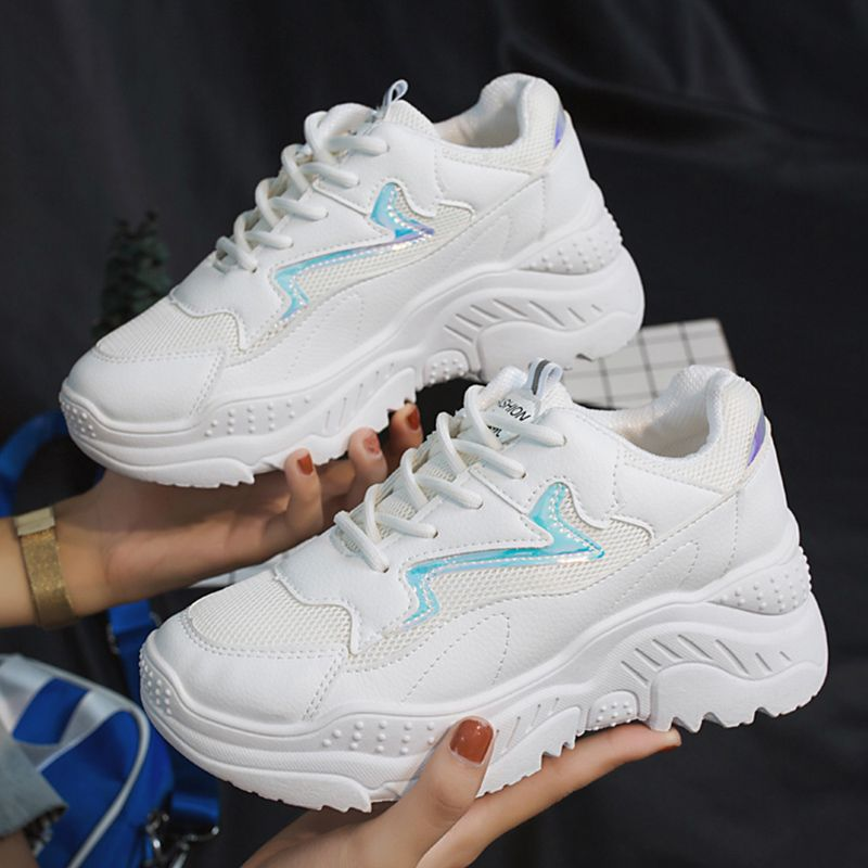 online store c4244 8ccdf Women Casual Shoes 2019 Spring White Shoes Woman Flats Female Platform  Dames Sneakers For Women Fashion Women Sneakers Femme