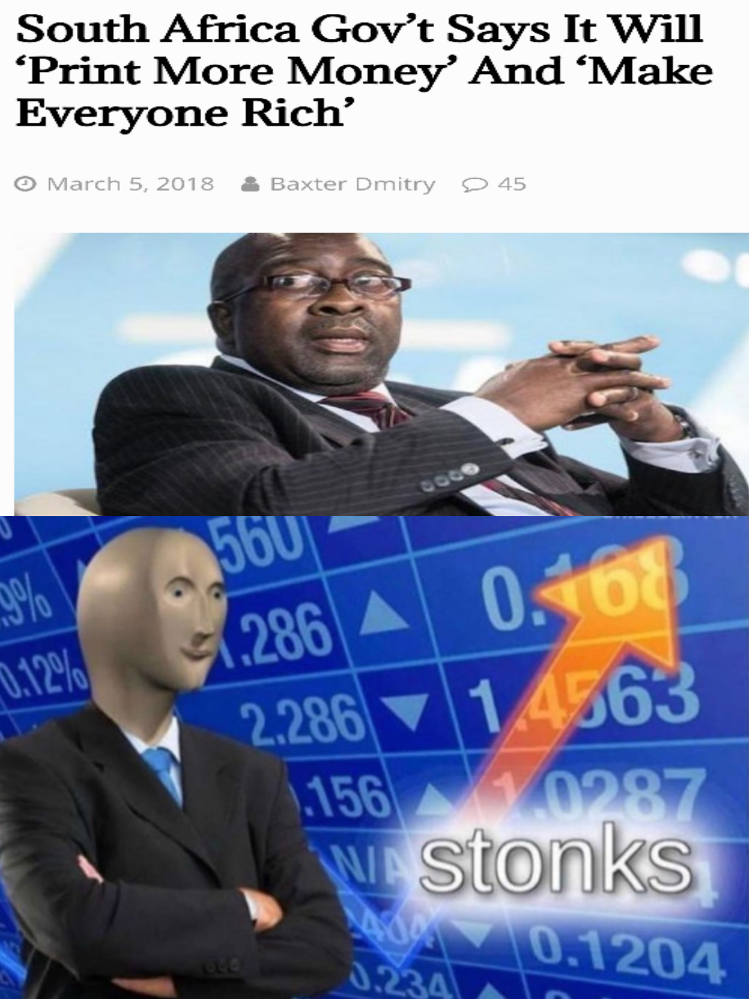 32 Weird AF Stonks Memes That Are on the Rise Memes