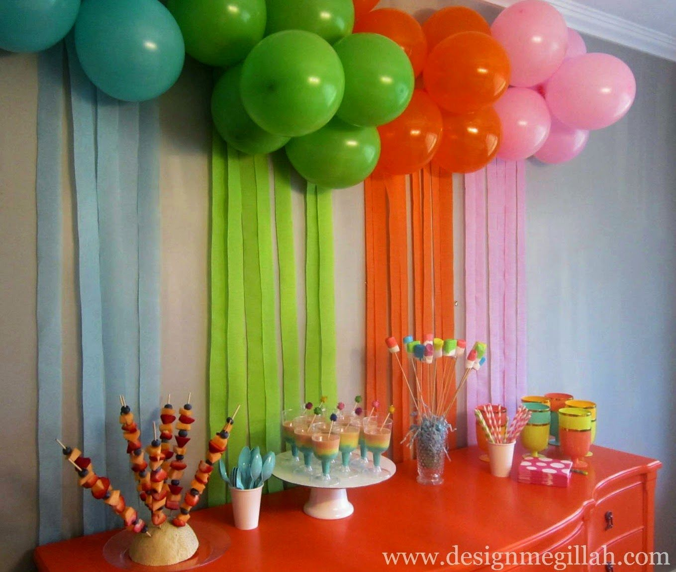 Bday Decoration Ideas At Home Simple Decorating Party and Supplies