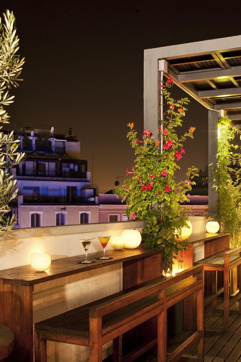 Terazza Hotel Pulitzer Barcelona C Bergara 8 Terrazas