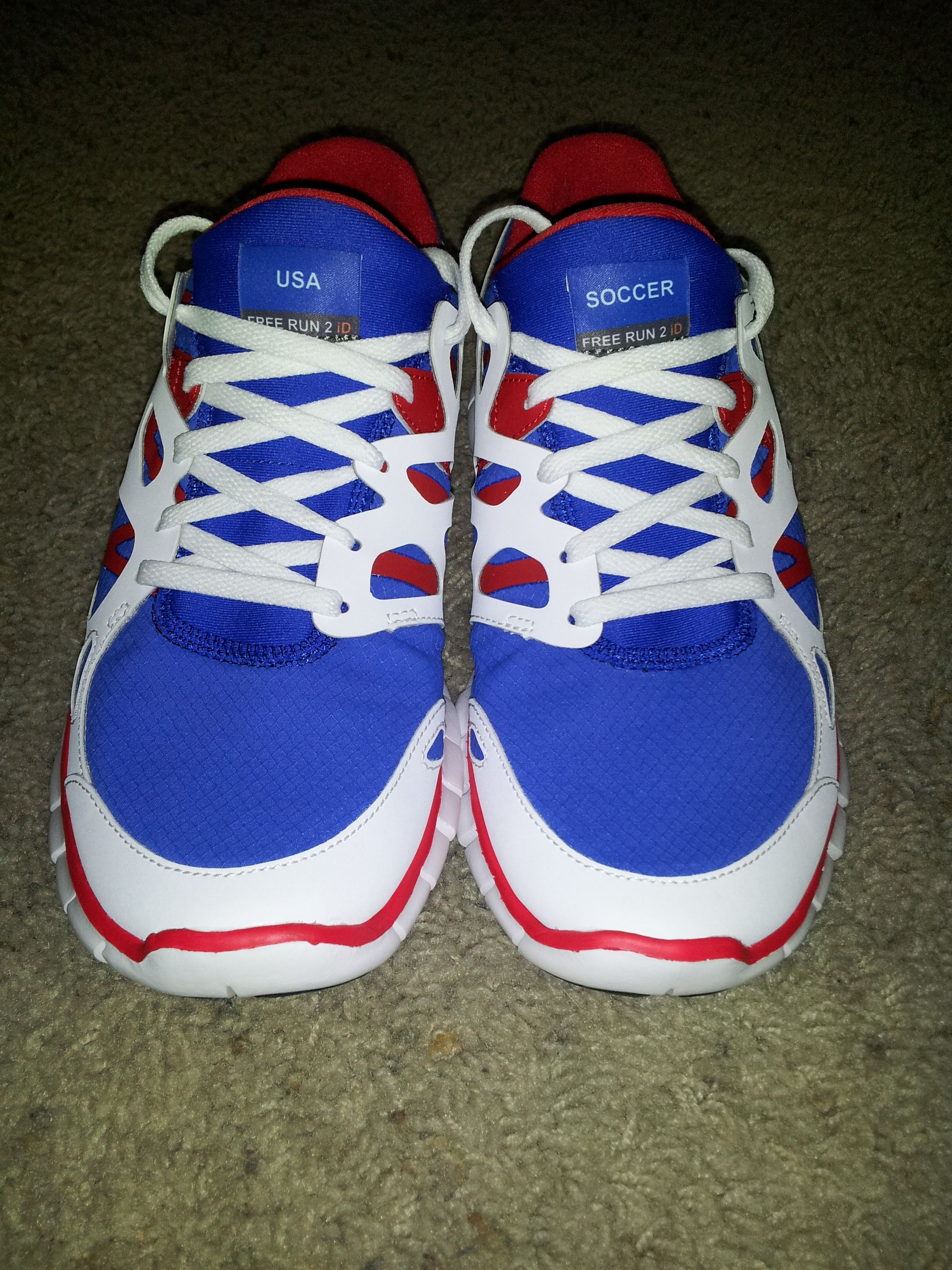 USA soccer shoes I designed for the London Summer Olympics ...