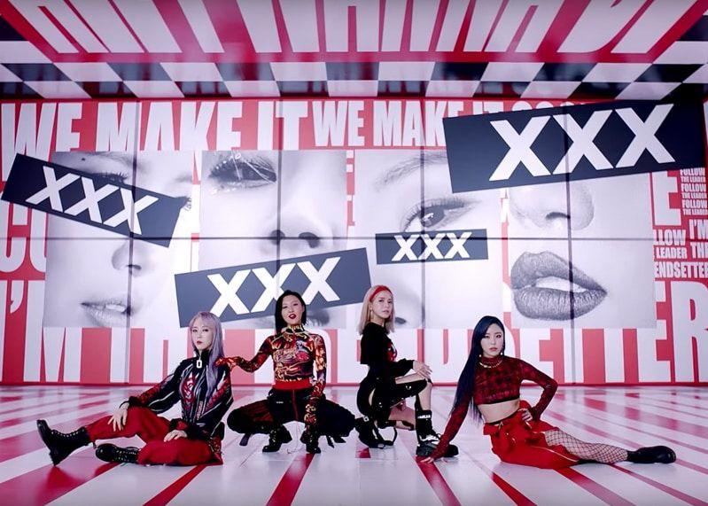 K Pop Fashion Outfits From Mamamoo S Hip Mv Inkistyle Mamamoo Pop Fashion Moonbyul