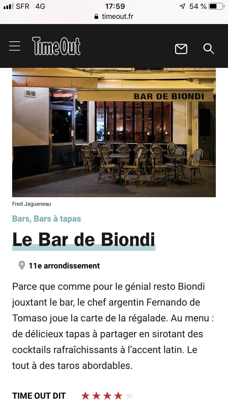 11 Bar Tapas Argentin Paris Desktop Screenshot