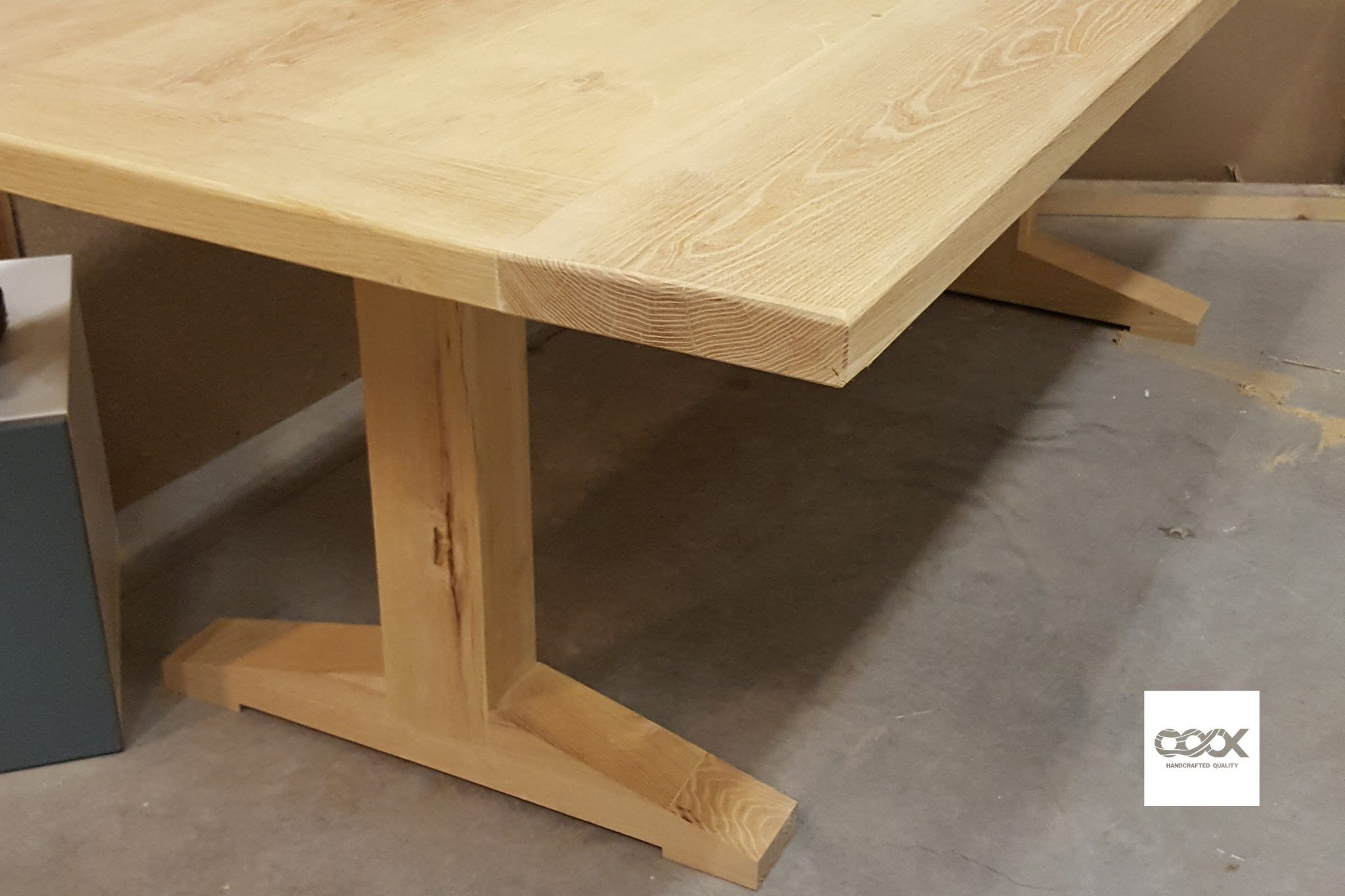 Hardhouten Uitschuifbare Eettafel.Acacia Houten Tafel Klantproject Een Project Voor Een Klant En