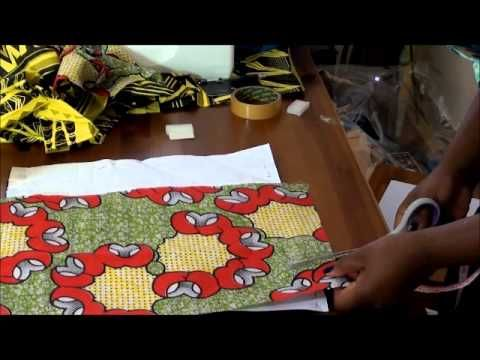 How to make an envelope clutch with ankara or African print accents ...