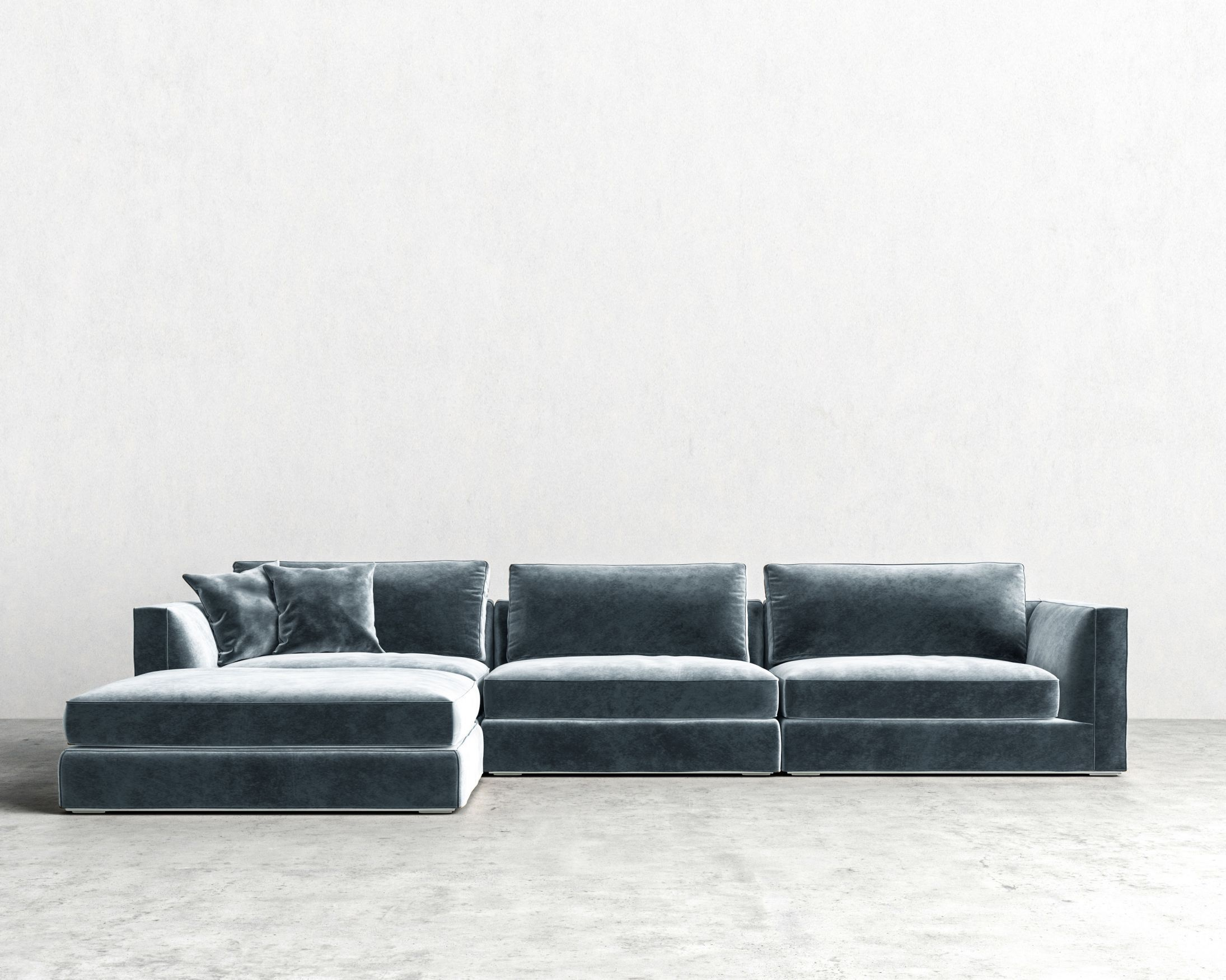 Milo Modular Sectional In 2020 Modular Sectional Minimalist Sofa Interior Design Living Room