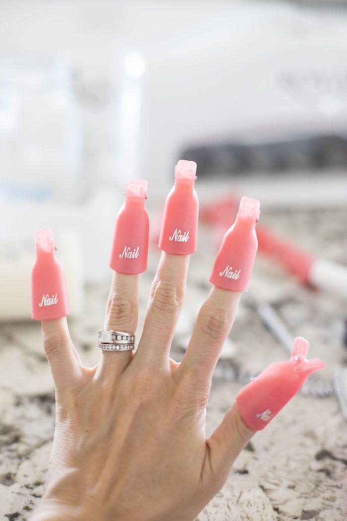 How To Do Gel Nails At Home A Step By Step Guide A Slice Of Style Tutorial De Unas De Gel Unas De Gel Unas De Resina Decoradas