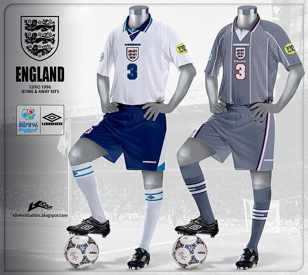 Inglaterra - Euro 1996  b53fbe9037f85