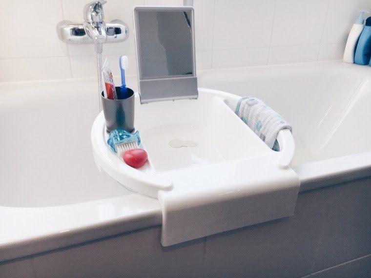 Das Bad ist heute der erste Teil unserer Montessori-Entdecker