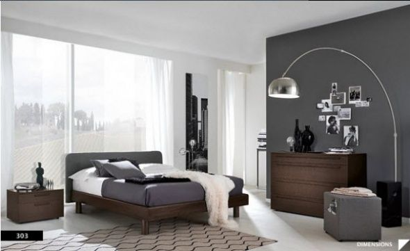 Modern Bedroom Gray the modern home decor: modern gray bedroom | home | pinterest
