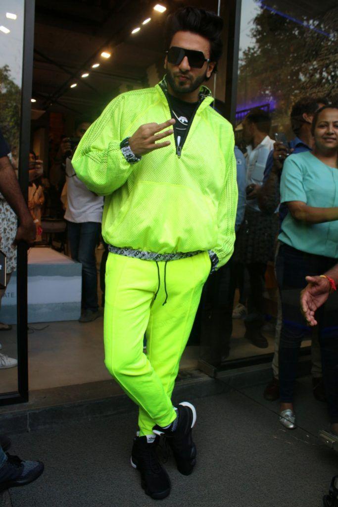 0e284938b9 Ranveer Singh Inaugurates Adidas Originals Store
