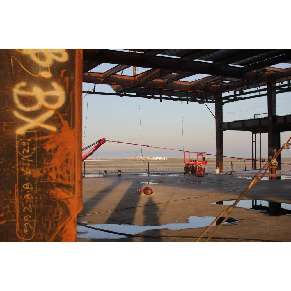 Boarding Area E Construction Progress In January 2013