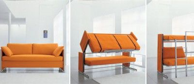 Transformer Furniture Sofa Into Bunk Bed Space Saving Furniture