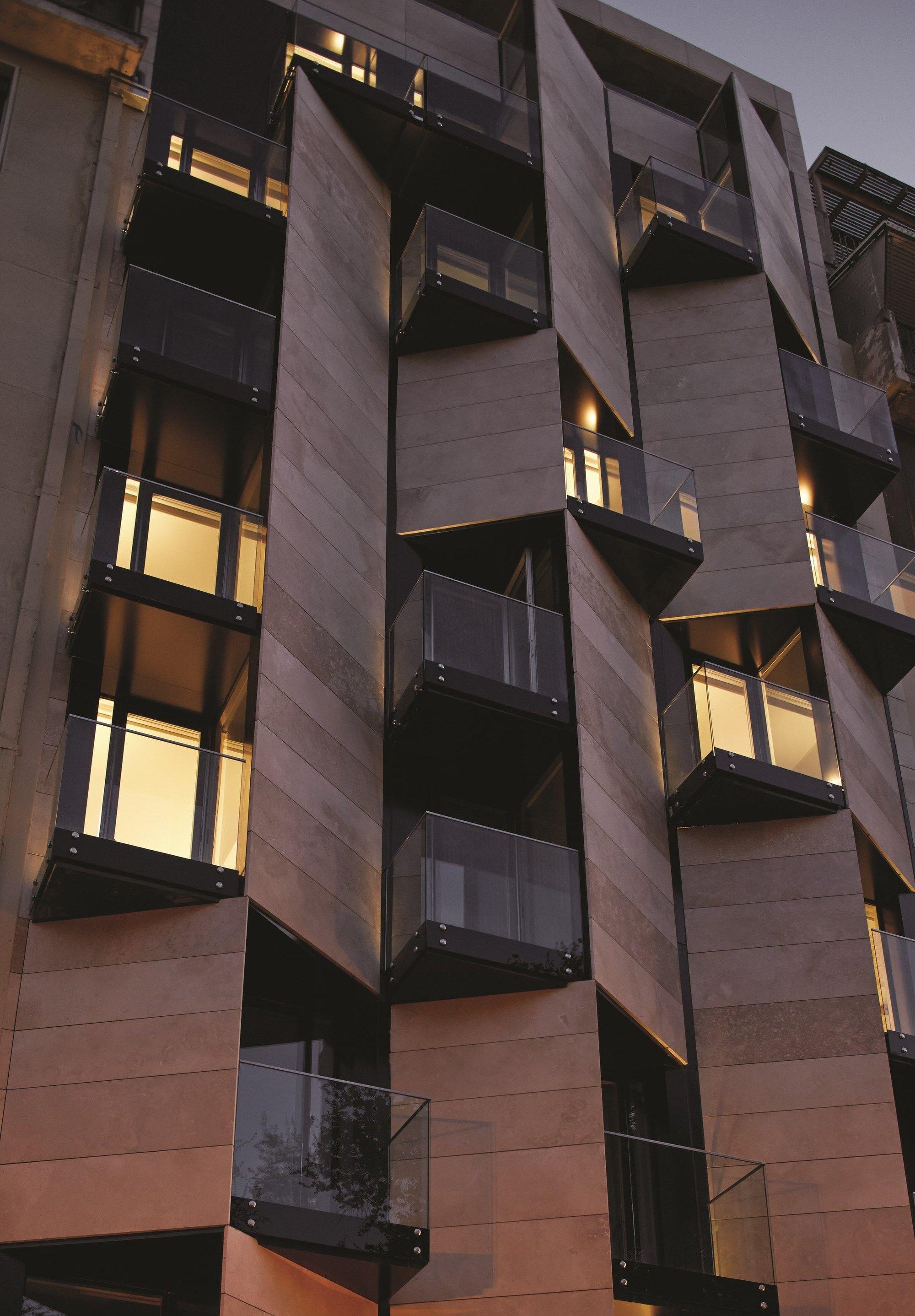 Ismael 312 Apart Hotel Estudio Larrain Hotel Architecture Facade Design Facade Architecture