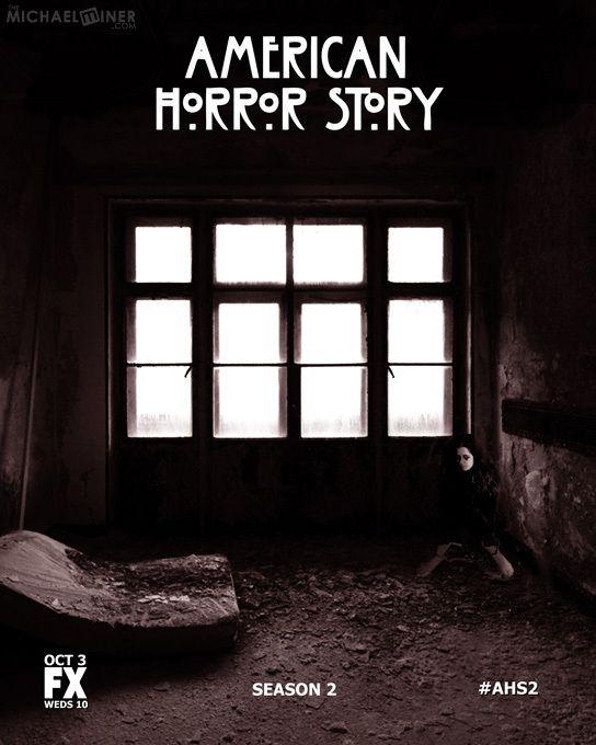 American Horror Asylum Poster Photography Fx Ad Advertising