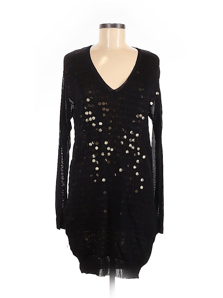 stella mccartney casual dress size: 42 black dresses - used