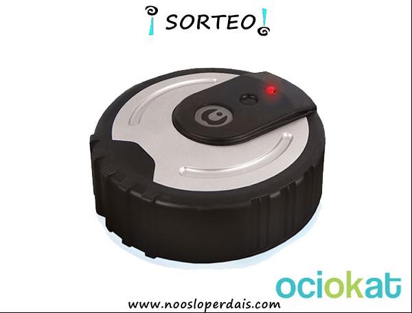 Sorteo robot mopa ubot de Ociokat | noosloperdais