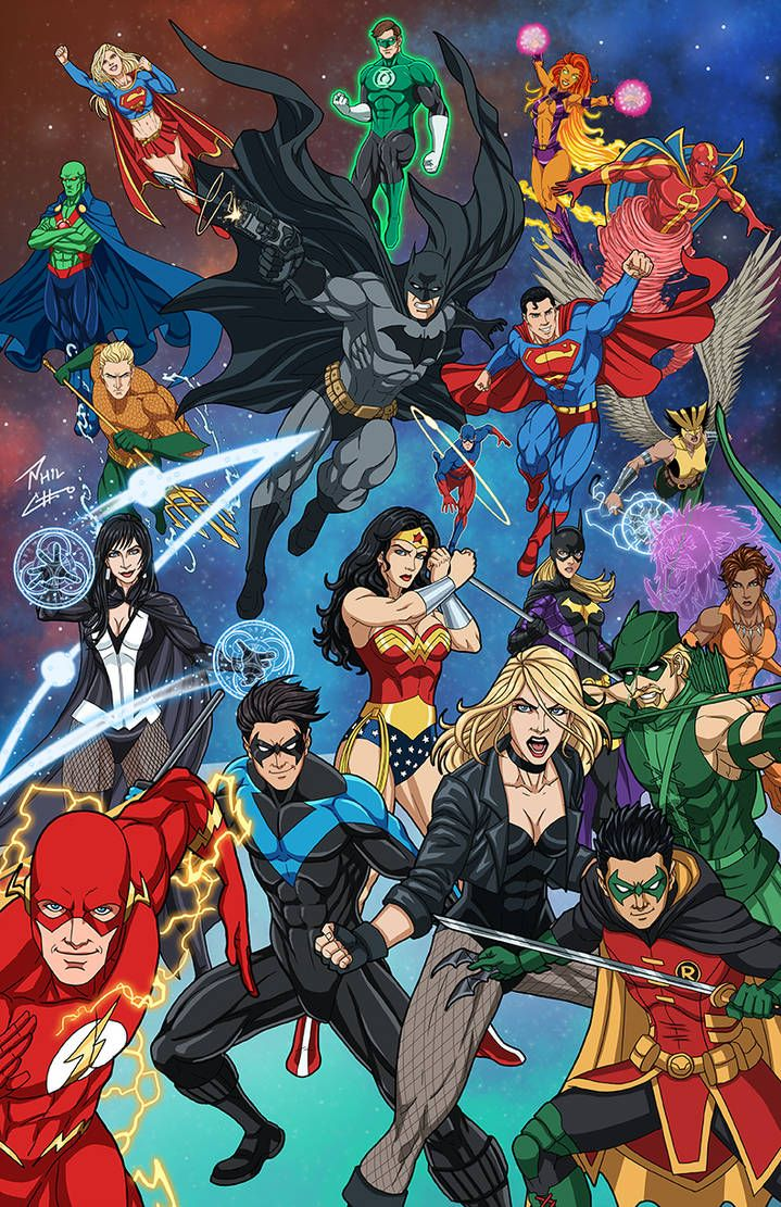 Justice League & Young Justice