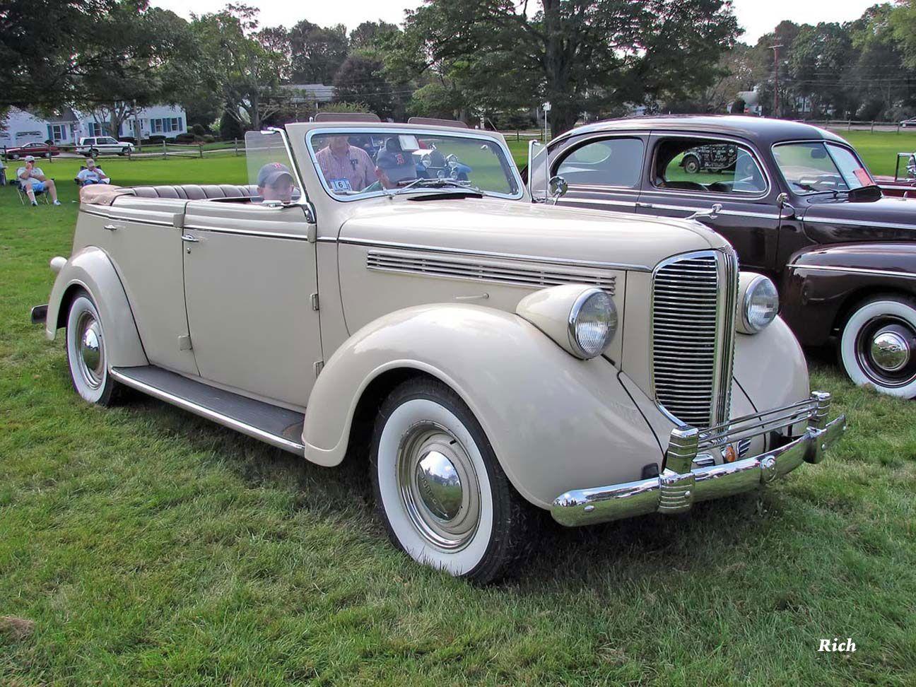 1938 Dodge Conv Sedan Dodge Sedan Antique Cars