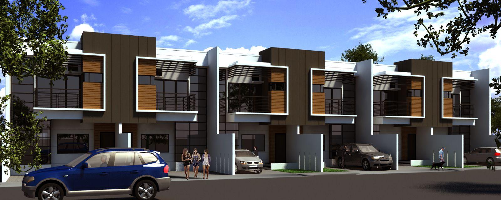 Low Budget Row House V2 By Hupao Deviantart Com On DeviantART