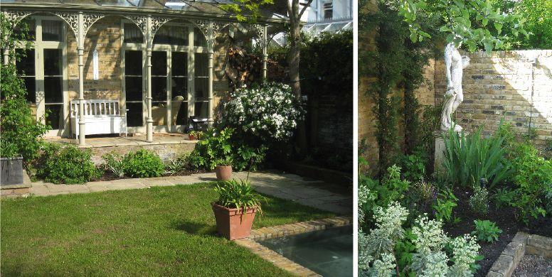 Planting redesign for a John Brookes garden, Balham Heslop ...