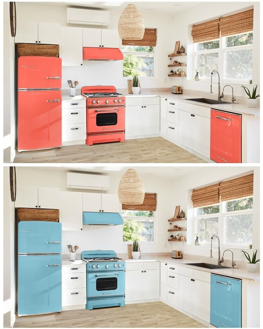 Tiny House Kitchenideas: Everyone Is Falling Head Over Heels With Big Chill's Retro