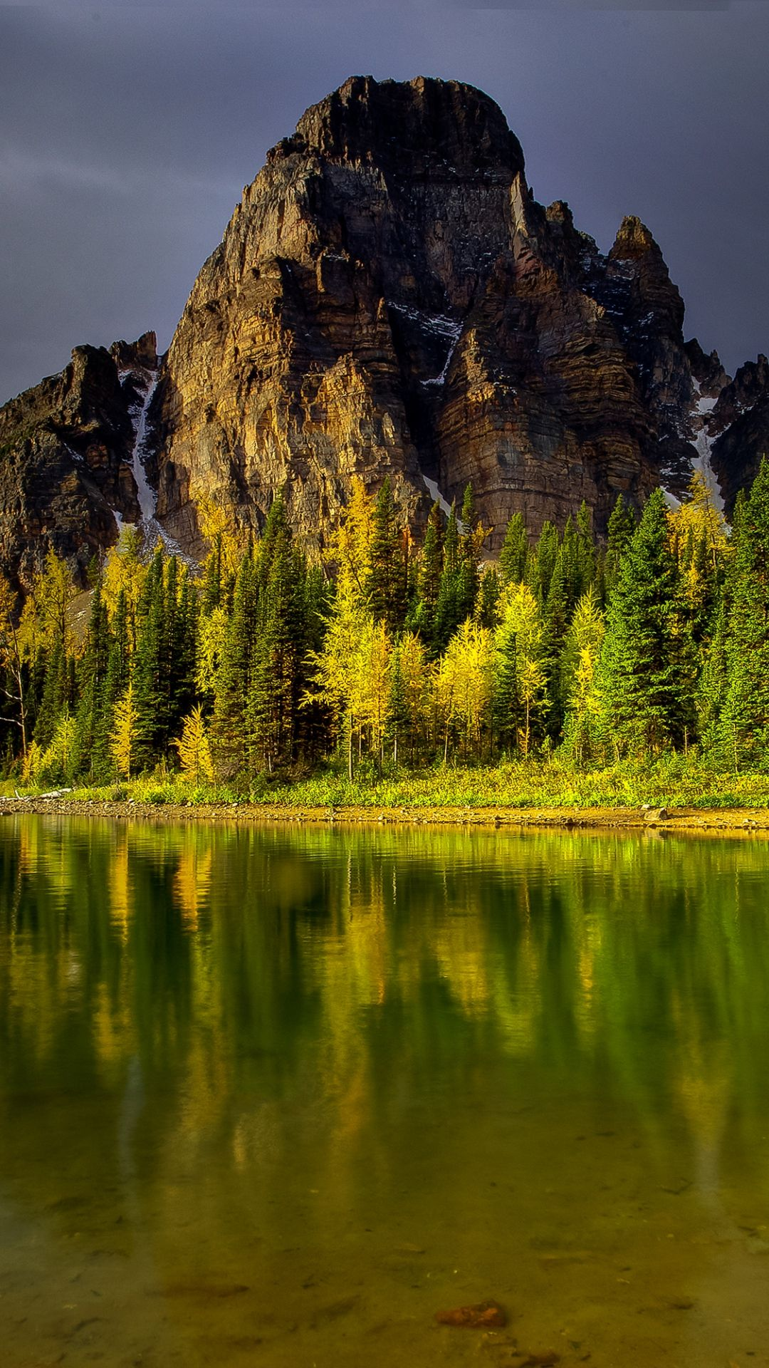 Mountains Sky Nature Lake iPhone 8 Wallpapers Nature