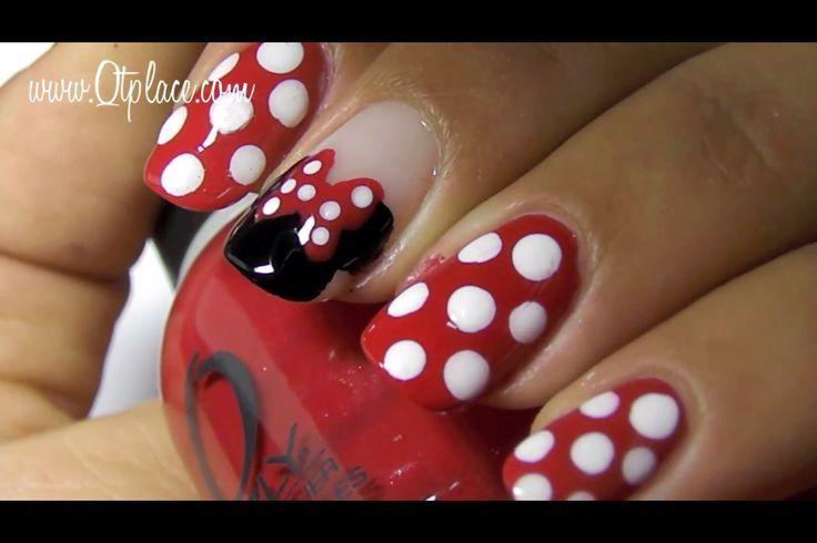 Creativenailart Disney nail art Maybe toe art for Disney Marathon ...