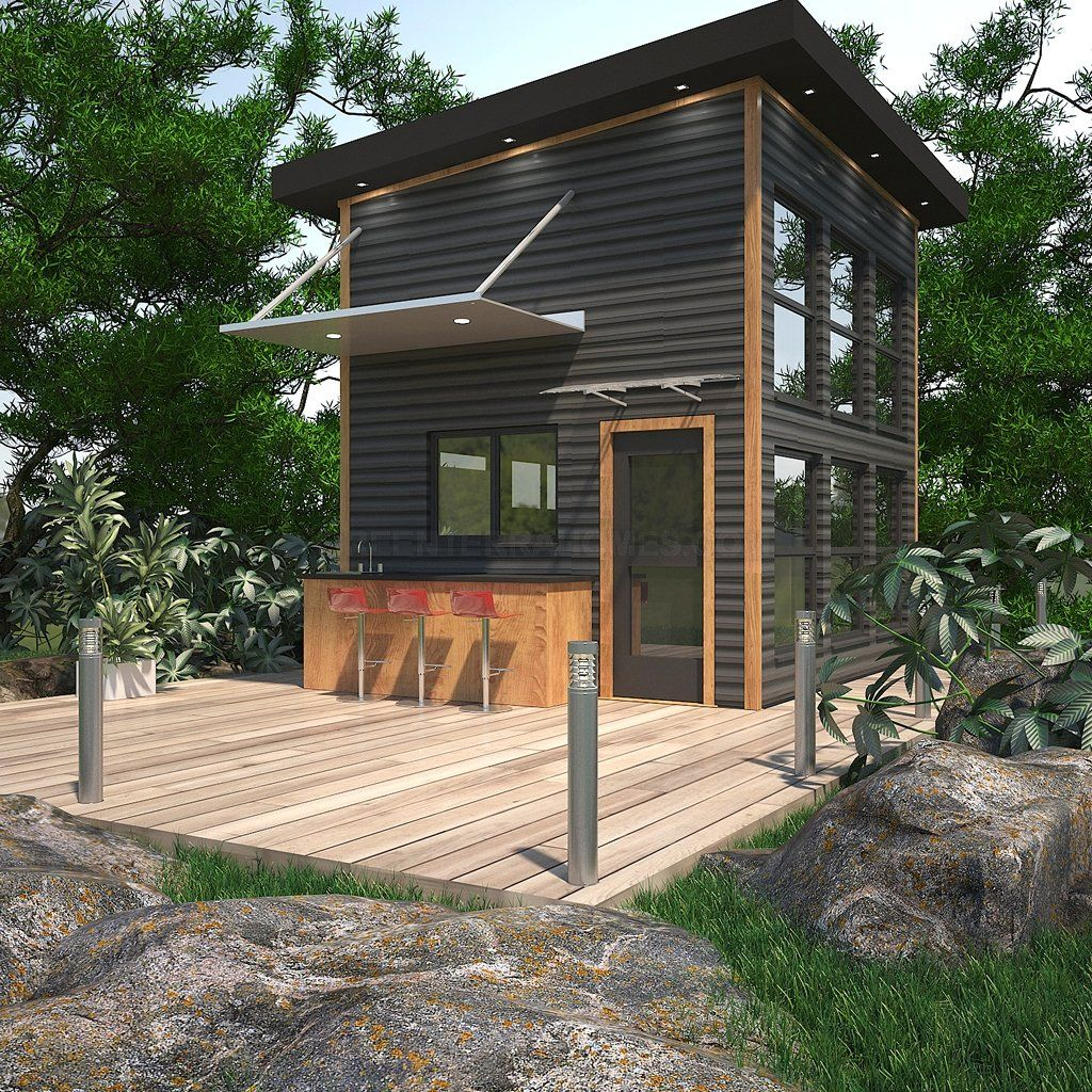 Largest Manufacturer Of Steel Frame Modular Homes Modern Modular Houses Manufactured With Our Proprietary Comme Prefab Pool House Prefab Cottages Cottage Kits
