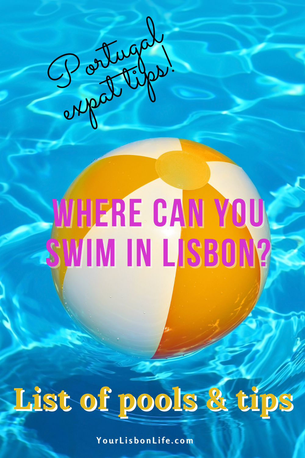 Where Can You Swim in Lisbon: List of pools and ti