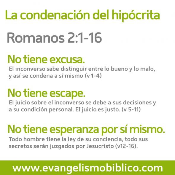 Romanos 2 1 16 La Condenacion Del Hipocrita Romanos Hipocrita Biblia