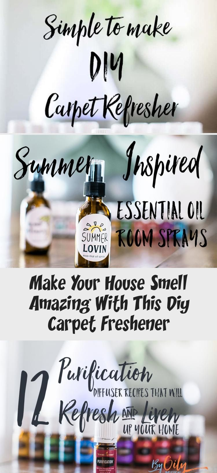 Neutralize house smells with this DIY Carpet deodorizer