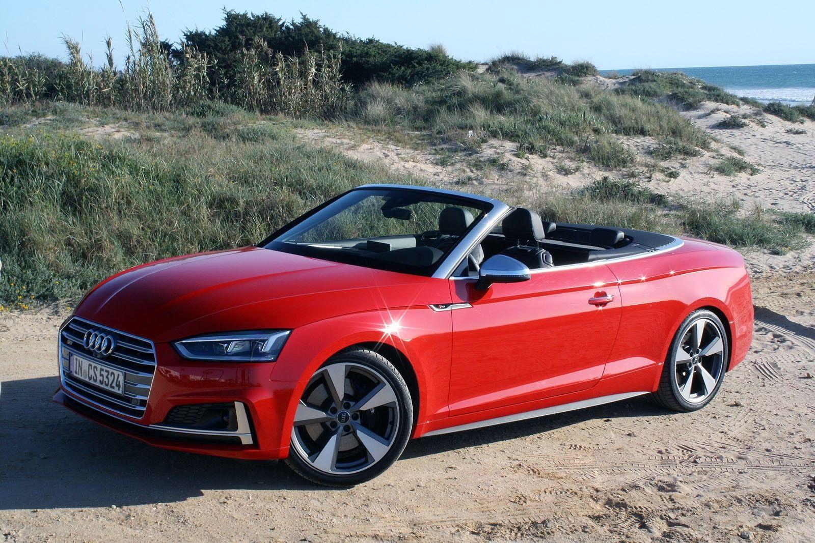 2018 Audi A5 Cabriolet First Drive Audi A5 A5 Cabriolet Audi S5