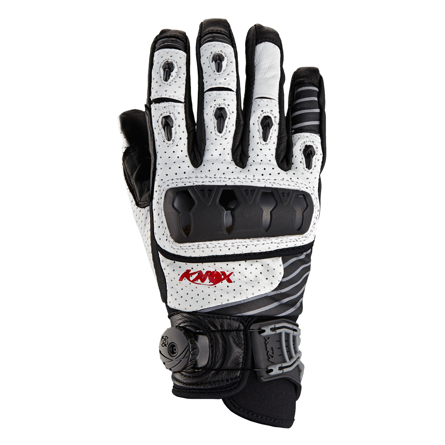Icon justice leather motorcycle gloves - Knox Orsa Leather Motorcycle Gloves White Playwellbikers Co Uk Http