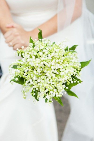 Bouquet Sposa Zagara.Lily Of The Valley Flower Bouquets By Matrimonio Bouquets