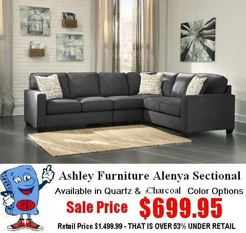 Ashley Furniture 16601 Alenya Sectional | Living Room Furniture ...