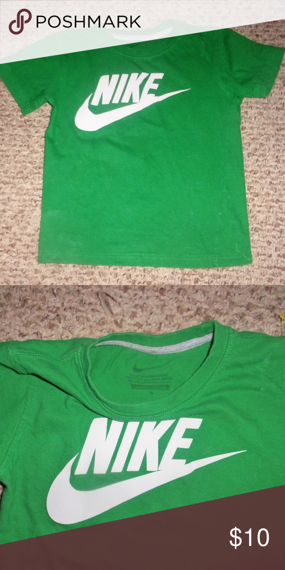 da38c785 boys green nike shirt size 6 boys nike shirt size 6 be sure to check out my  other items & thanks for looking! Nike Shirts & Tops Tees - Short Sleeve