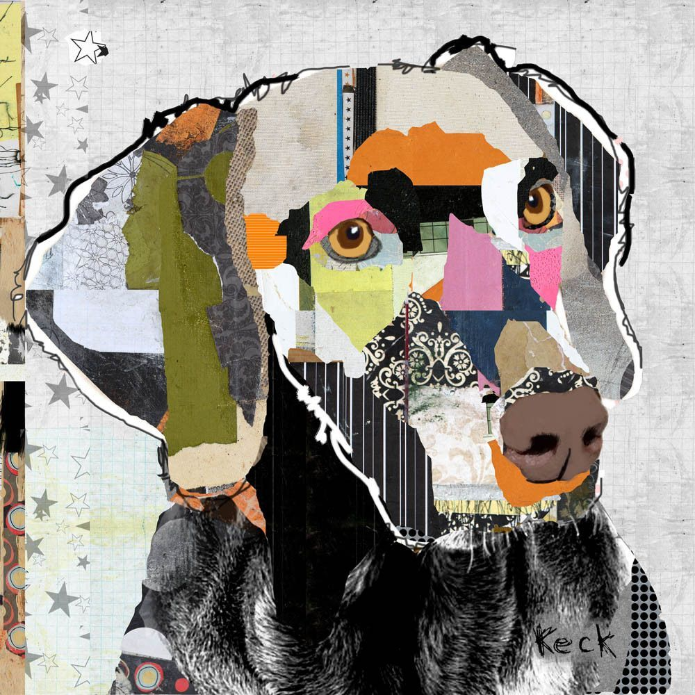weimaraner dog art title weimaraner 021501 size 10 x 10