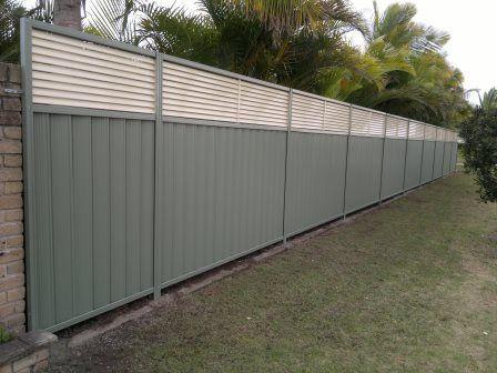 Colorbond Fencing Backyard Fences Fence Outdoor Decor