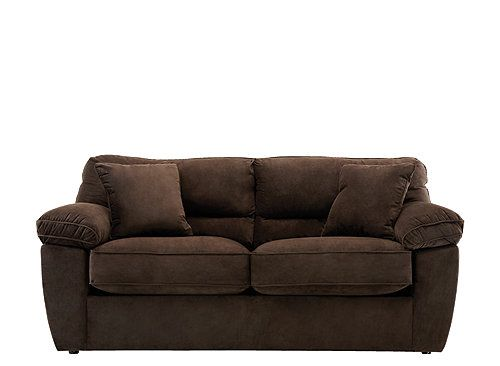 Charming This Casual Rockport Microfiber Full Sleeper Sofa Is So Comfy To Relax On  With Its Soft