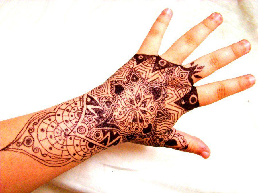 Henna Tattoo On Hands Meaning : Black sharpie henna tattoo by kurotsuki kietsu on deviantart