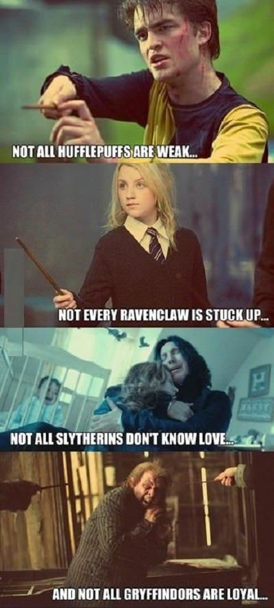 Harry Potter 101 Don T Make Judgments Or Assumptions About People
