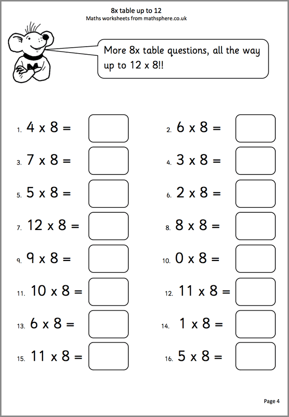 Maths Worksheets For Year 3 Math Worksheet Math Worksheets Worksheets Free