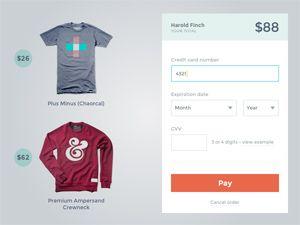 Payment Form  Design