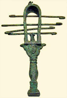 Sistrum,an egyptian musical instrument