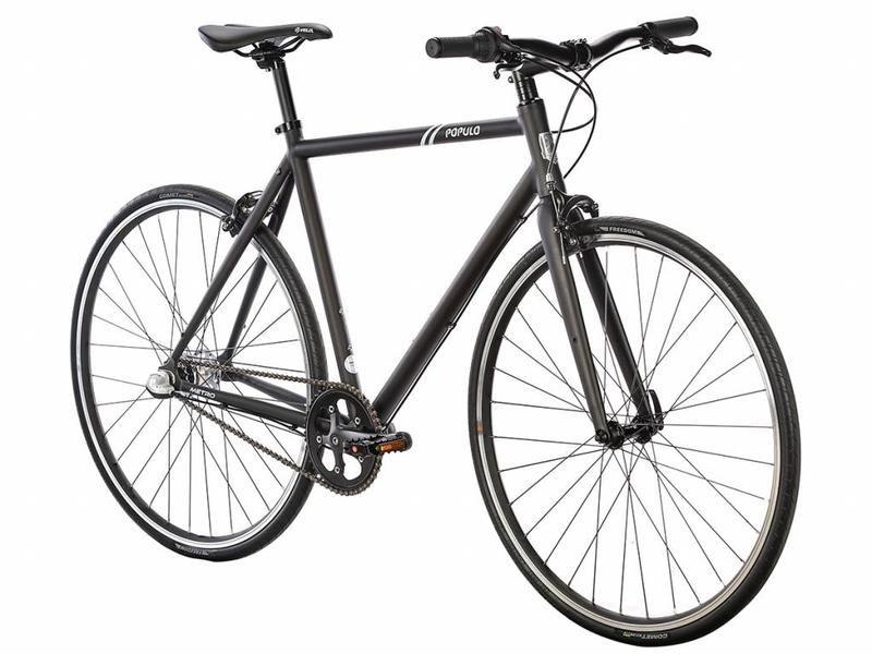 Populo Metro Urban Bike Black Urban Bike Bike Adventure Bike