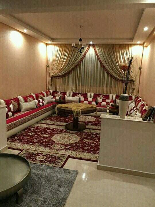 Pin By Aaaaa Bbbbb On Salon Marocain Drawing Room Decor Moroccan Living Room Modern Home Furniture