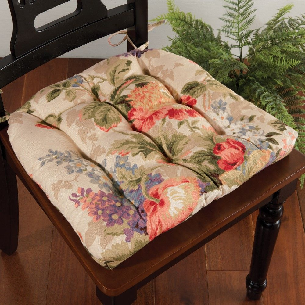 Antique Floral Chair Pad Sturbridge Yankee Workshop Floral Chair Chair Pads Antiques