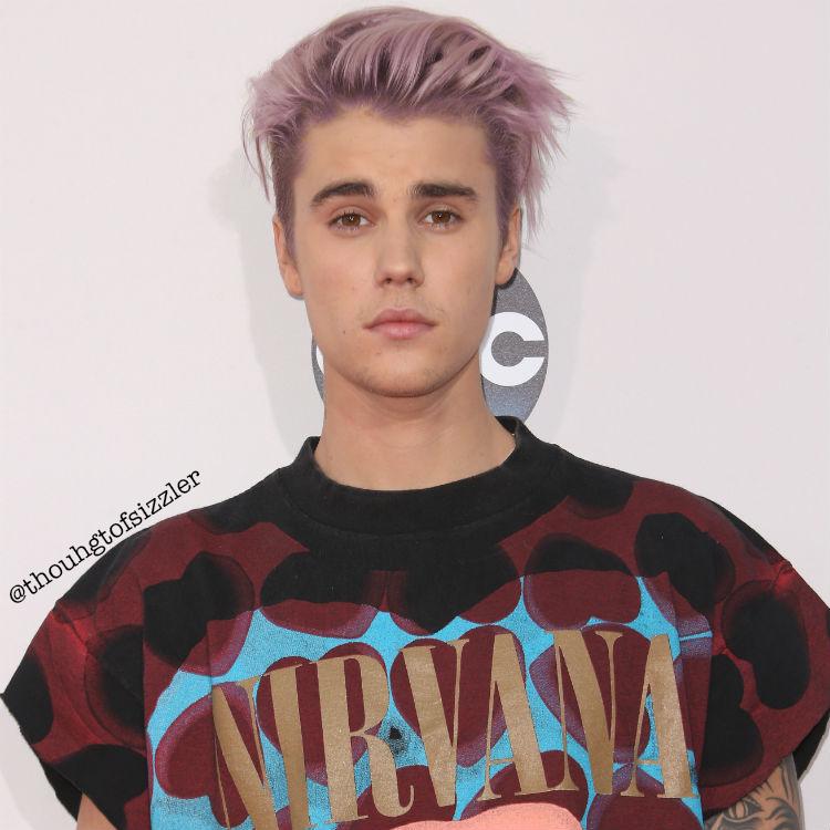 Justin Bieber Nirvana Pink Hair Purple Hair Edit Justinbieberedits Justin Bieber I Love Justin Bieber Mtv Europe Music Awards