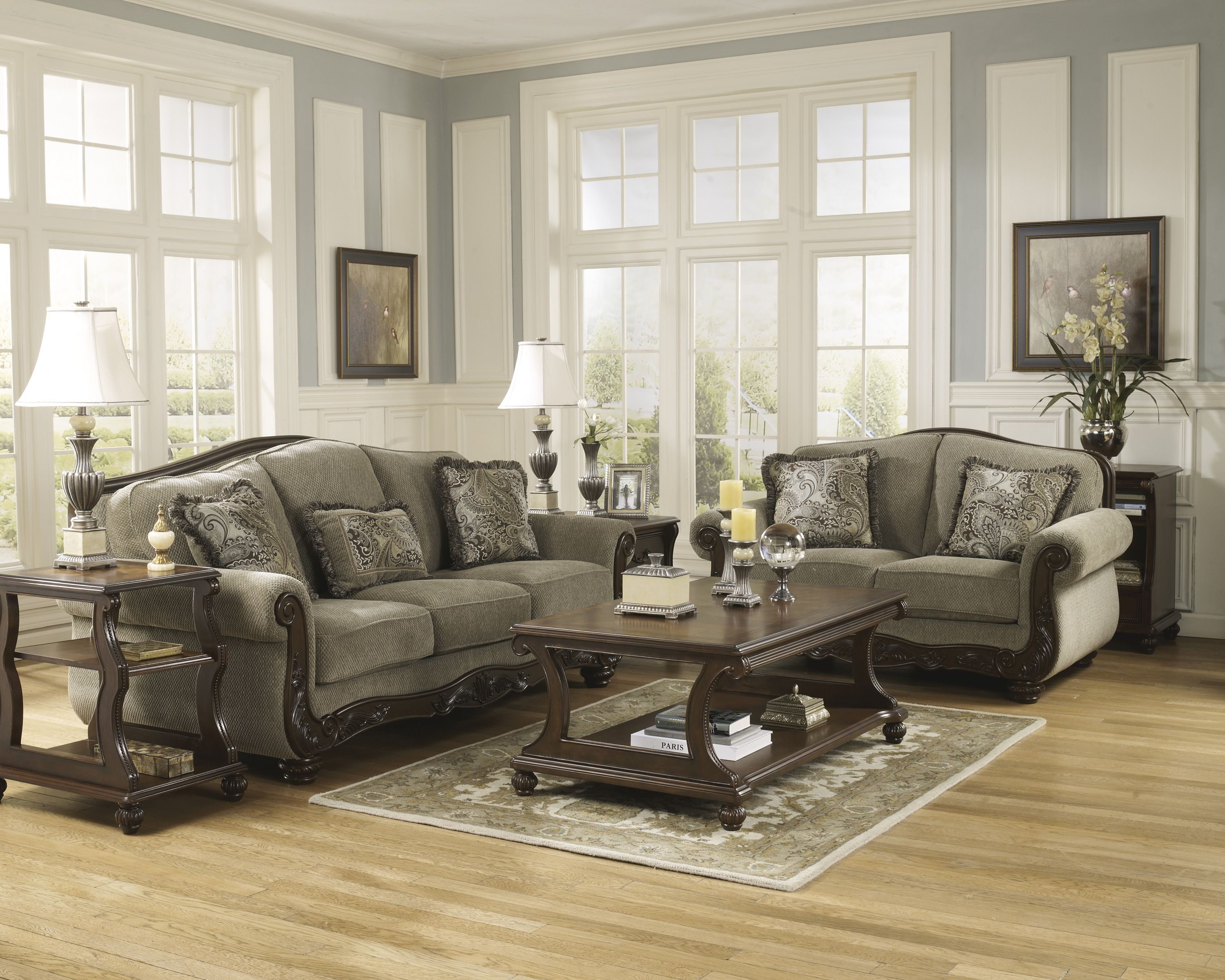 Buy signature design by ashley 5730038 5730035 living room sets online trusted since 1951